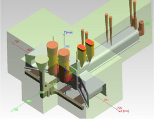 Guss Konstruktion CAD Aluminium Sandguss