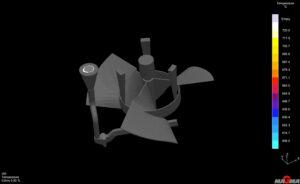 Guss Simulation Aluminium Sandguss